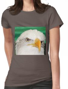Eyes of an Eagle Womens Fitted T-Shirt