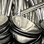 ladles by Bruce  Dickson