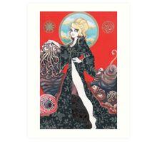 Stella and the Super Beast Art Print