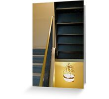 Upstairs, Downstairs Greeting Card