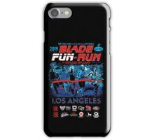 Blade Fun-Run for Displaced Replicants iPhone Case/Skin