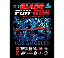 Blade Fun-Run for Displaced Replicants Photographic Print