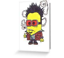 "Tyler ""Minion"" Durden, Banana Club. Greeting Card"