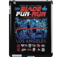Blade Fun-Run for Displaced Replicants iPad Case/Skin
