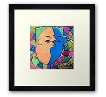 The Mirror has Two Faces - by Lola Framed Print
