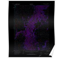 USGS TOPO Map Alaska AK Dillingham A-5 355405 1952 63360 Inverted Poster