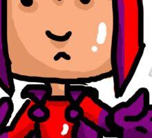 Magneto Erik Cartoon Sticker
