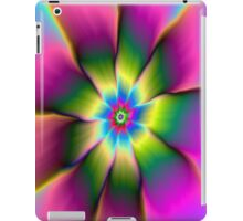 Flower in Green and Pink iPad Case/Skin