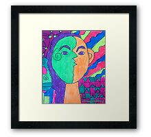 Color Me Happy - by Nadia Framed Print