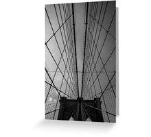 Bk Bridge pattern Greeting Card
