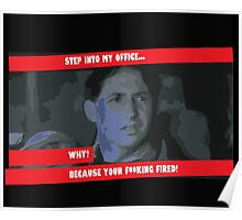 Step into my office Poster