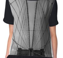 Bk Bridge pattern Chiffon Top