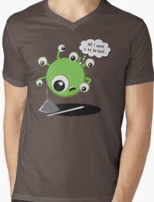 Beheld Mens V-Neck T-Shirt
