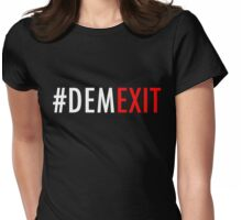 Demexit4 Womens Fitted T-Shirt