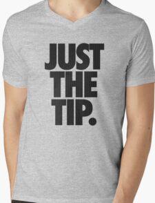 JUST THE TIP. - Chevron Texture Mens V-Neck T-Shirt
