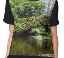 Central Park lost in thought Chiffon Top