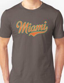 Miami Script Orange T-Shirt