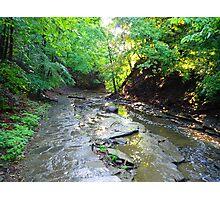 Cascadilla Gorge Trail Photographic Print