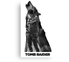Tomb Raider - Lone Wolf Canvas Print