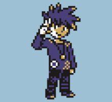 Blue (Trainer) - Pokemon Gold & Silver Kids Tee