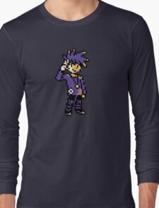 Blue (Trainer) - Pokemon Gold & Silver Long Sleeve T-Shirt