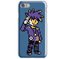 Blue (Trainer) - Pokemon Gold & Silver iPhone Case/Skin