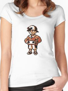 Gold (Trainer) - Pokemon Gold & Silver Women's Fitted Scoop T-Shirt