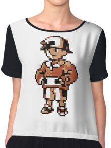 Gold (Trainer) - Pokemon Gold & Silver Chiffon Top