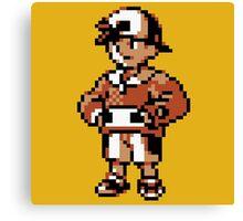 Gold (Trainer) - Pokemon Gold & Silver Canvas Print
