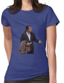 John Travolta Womens Fitted T-Shirt