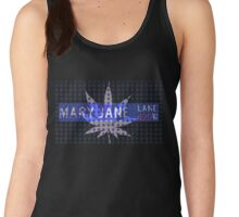 Mary Jane Lane 420 - Mini Leaf Women's Tank Top