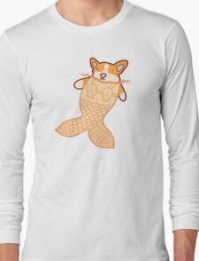 Mermaid Corgi Long Sleeve T-Shirt