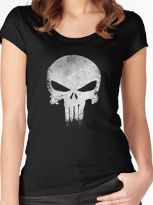 PUNISHER VINTAGE Women's Fitted Scoop T-Shirt