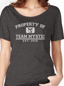Pokemon Go - Property of Team Mystic Women's Relaxed Fit T-Shirt