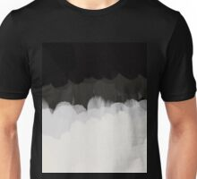 Zen Landscape in black and white Unisex T-Shirt
