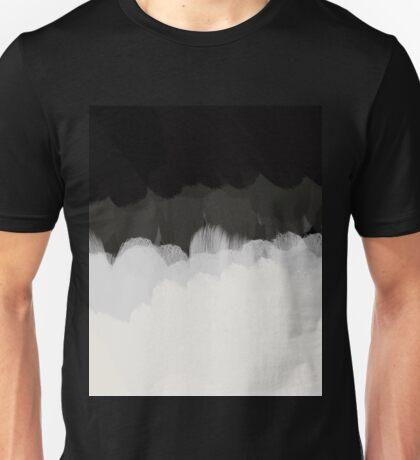 Zen Landscape in black and white Unisex T-Shirt