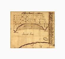 Old Alexandria VA Map by George Washington (1749) Unisex T-Shirt