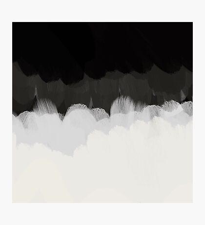 Zen Landscape in black and white Photographic Print