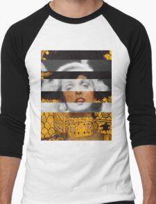Klimt's Judith and the Head of Holofernes & Marlene Dietrich Men's Baseball ¾ T-Shirt