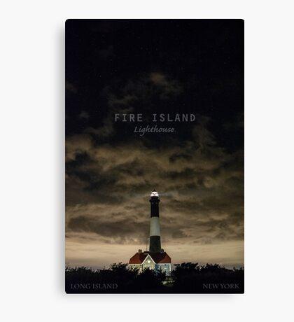 Fire Island Light. Canvas Print