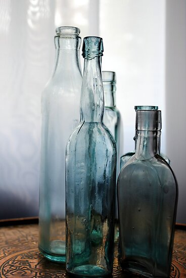 Overlapping Bottles by goddarb
