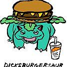 Dicksburgersaur by Tatiana  Gill