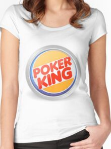 Poker king Women's Fitted Scoop T-Shirt