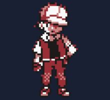 Red (Trainer) - Pokemon Gold & Silver Kids Tee