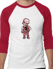 Red (Trainer) - Pokemon Gold & Silver Men's Baseball ¾ T-Shirt