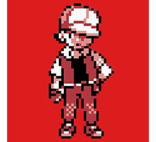 Red (Trainer) - Pokemon Gold & Silver Photographic Print