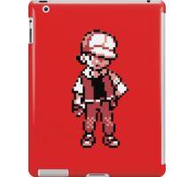 Red (Trainer) - Pokemon Gold & Silver iPad Case/Skin