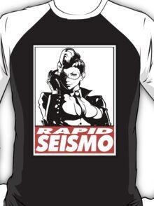 Crimson Viper Rapid Seismo Obey Design T-Shirt