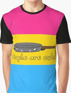 Pansexual Cartoon Tee (LGBTQ+) Graphic T-Shirt