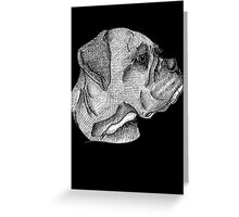 Boxer: I Greeting Card